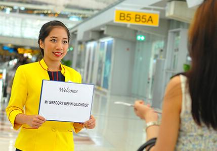 Shanghai Airport Greet